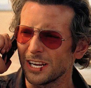 Bad boy Brad is smoking in shades
