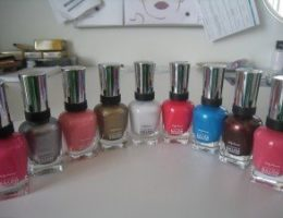 Shades from Sally Hansen Complete Salon Manicure Collection