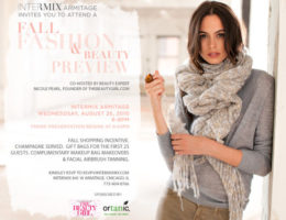 Intermix Fashion & Beauty Invite