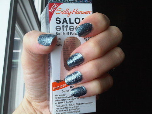 Trend To Try: Sally Hansen Salon Effects Nail Polish Strips - The ...
