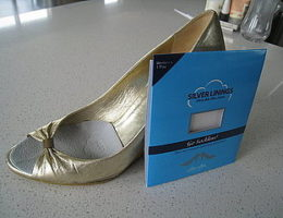 Silver Linings shoe inserts
