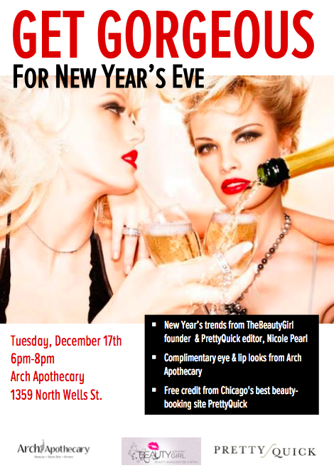 Get Gorgeous for NYE Invite