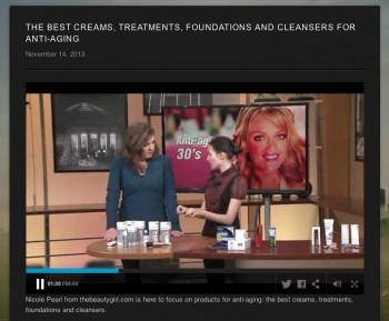 Tv Segment Best Anti Aging Products In Your 30s 40s 50s The