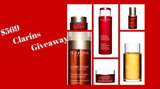 clarins giveaway
