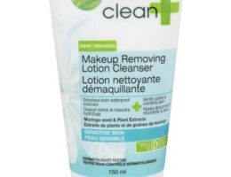 garnier clean + sensitive skin cleaning lotion