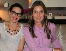 aerin lauder and nicole pearl