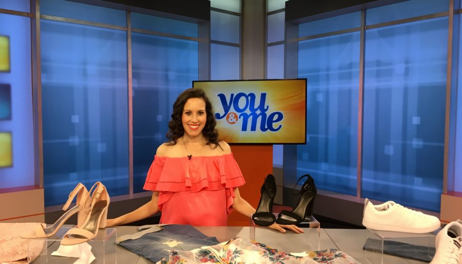 TV segment: Spring Fashion Trends