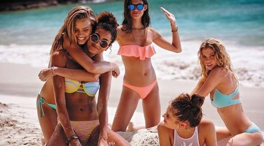Victoria's Secret swimsuit models