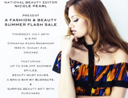 fashion and beauty flash sale event