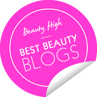 Beauty High Best Beauty Blogs badge