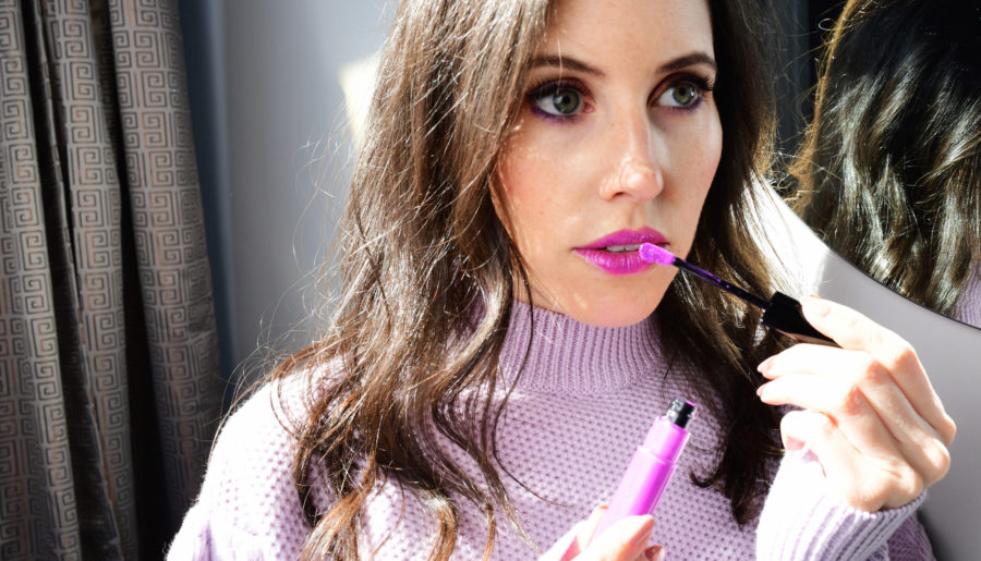 Pucker Up for Purple Lips