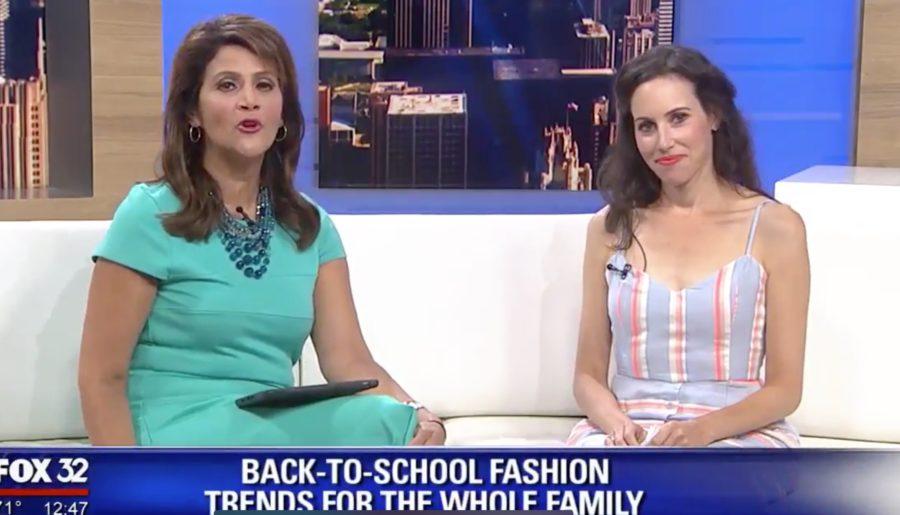 TV Segment: Back to School Fashion