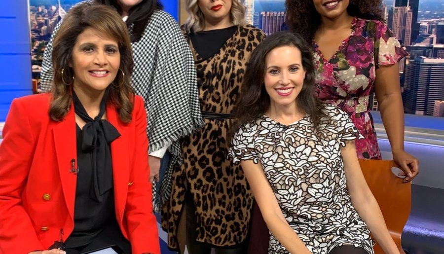 TV Segment: How to Pull Off Prints for the Curvy Girl